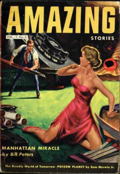 Amazing Stories (UK) - 10/1954
