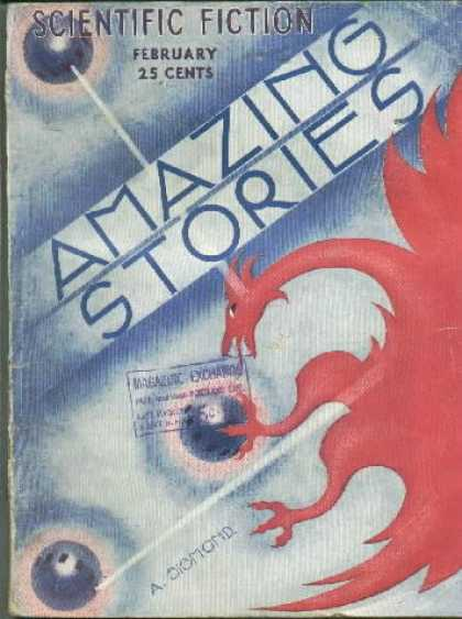 Amazing Stories 21 - Dragon