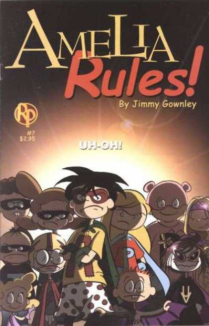 Amelia Rules 7 - Gownley - Children - Costumes - Youth - Kid Heroes
