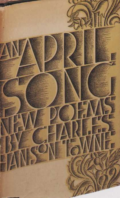 American Book Jackets - An April Song