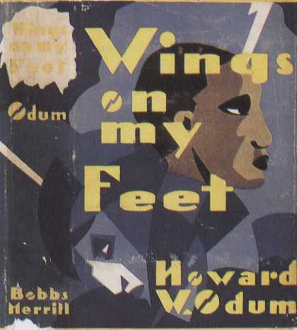 American Book Jackets - Wings On My Feet