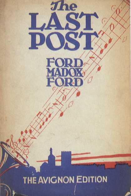American Book Jackets - The Last Post