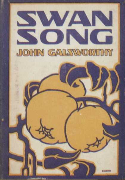 American Book Jackets - Swan Song