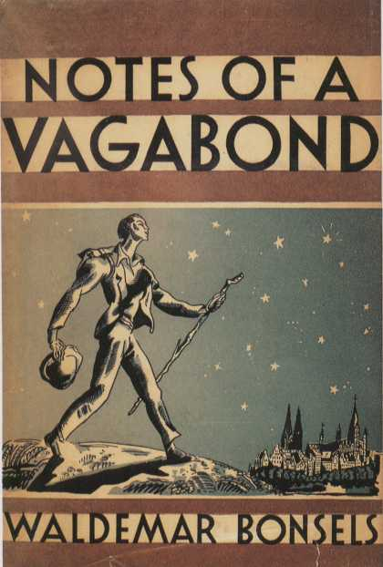 American Book Jackets - Notes of a Vagabond