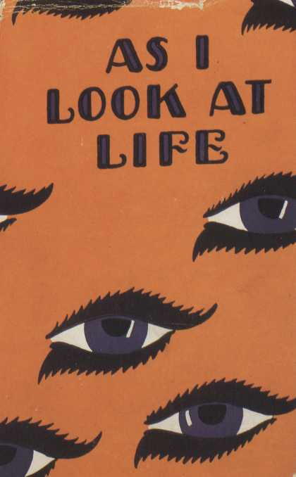 American Book Jackets - As I Look At Life