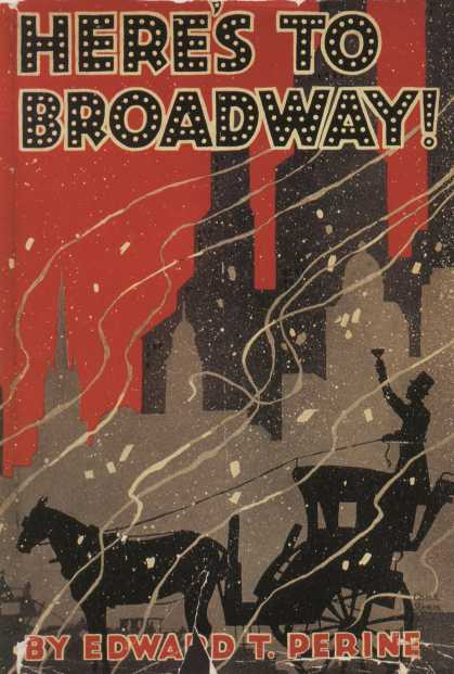 American Book Jackets - Here's To Broadway