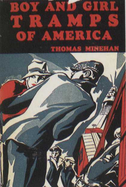 American Book Jackets - Boy and Girl Tramps of America
