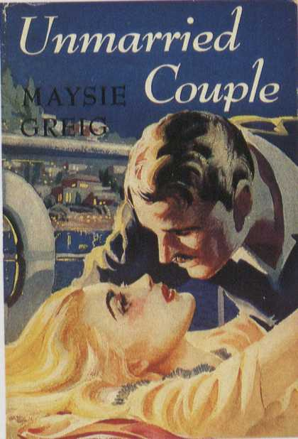 American Book Jackets - Unmarried Couple