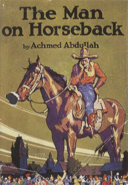 American Book Jackets - The Man on Horseback