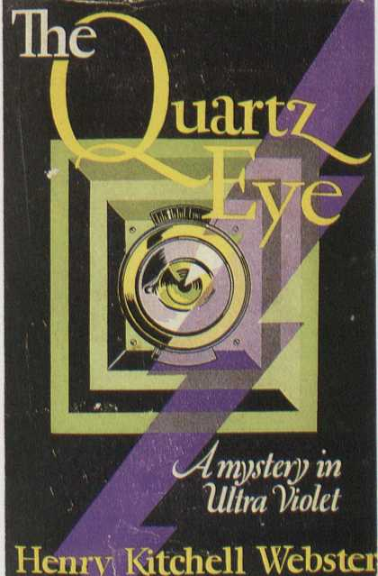 American Book Jackets - The Quartz Eye