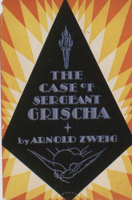 American Book Jackets - The Case of Seargant Grischa