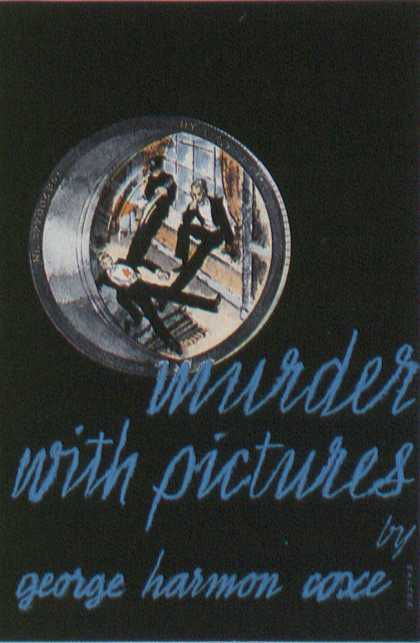 American Book Jackets - Murder With Pictures