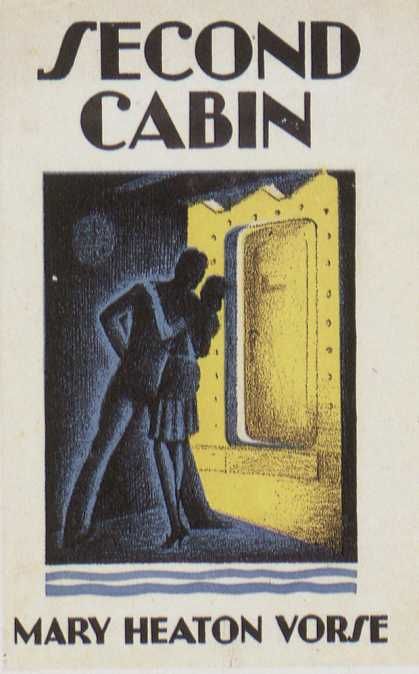 American Book Jackets - Second Cabin
