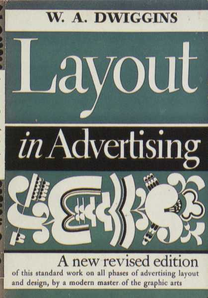 American Book Jackets - Layout in Advertising