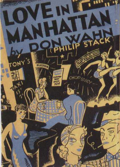 American Book Jackets - Love In Manhattan
