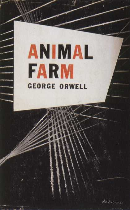 American Book Jackets - Animal Farm