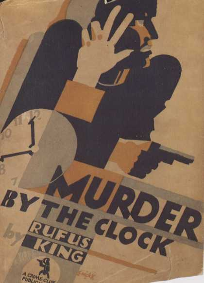 American Book Jackets - Murder by the Clock