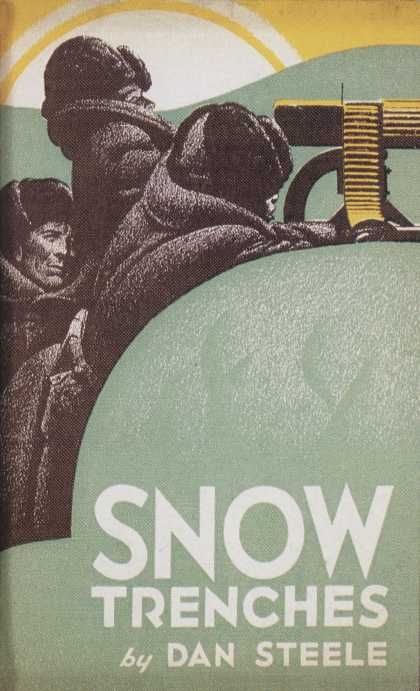 American Book Jackets - Snow Trenches