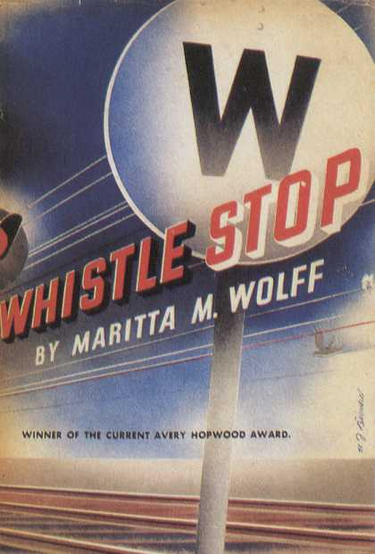 American Book Jackets - Whistle Stop