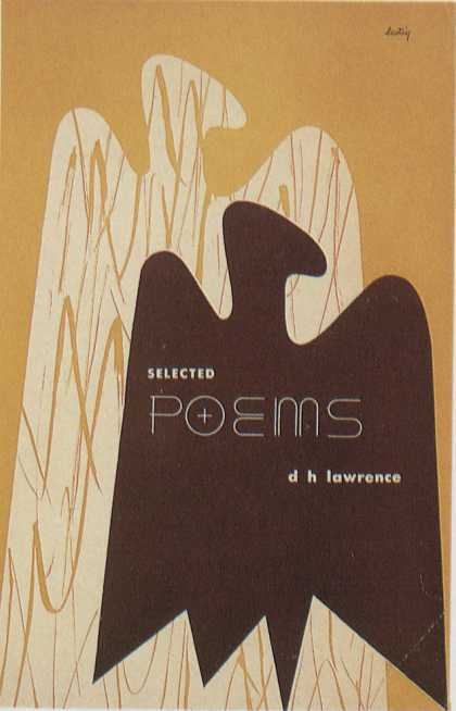 American Book Jackets - D.H. Lawrence: Selected Poems