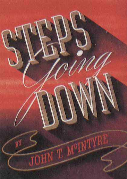 American Book Jackets - Steps Going Down