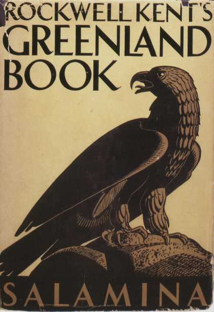 American Book Jackets - Rockwell Kent's Greenland Book