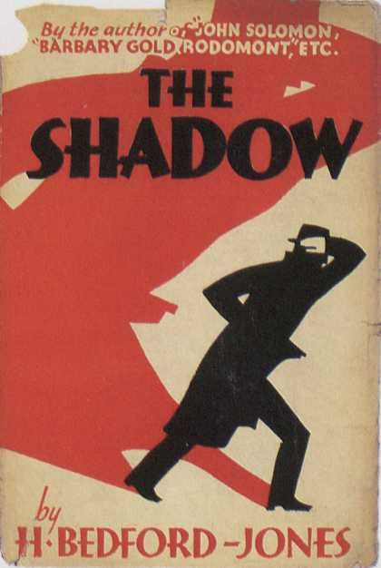American Book Jackets - The Shadow