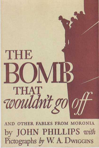American Book Jackets - The Bomb That Wouldn't Go Off