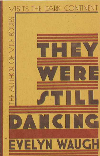 American Book Jackets - They Were Still Dancing