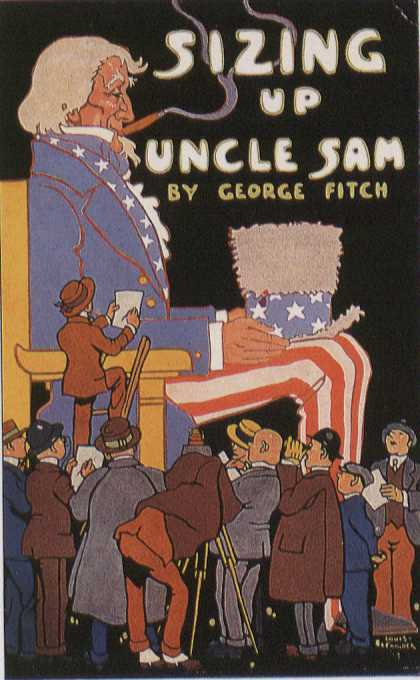 American Book Jackets - Sizing Up Uncle Sam