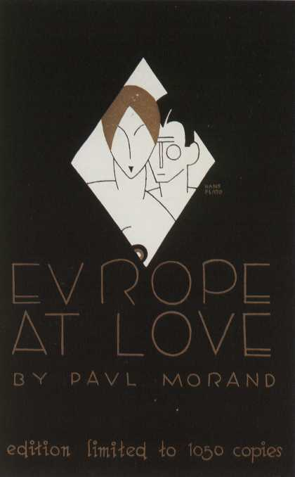 American Book Jackets - Europe At Love