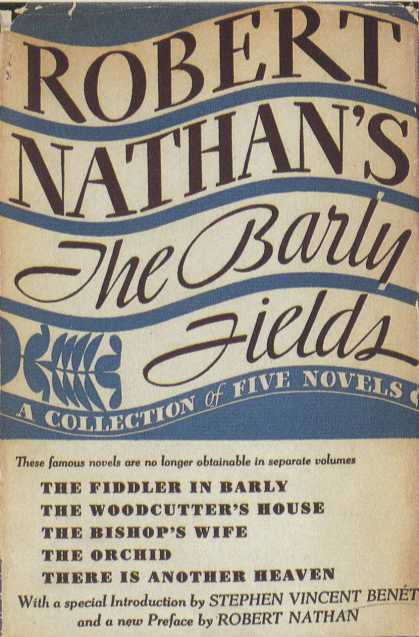 American Book Jackets - The Barly Fields