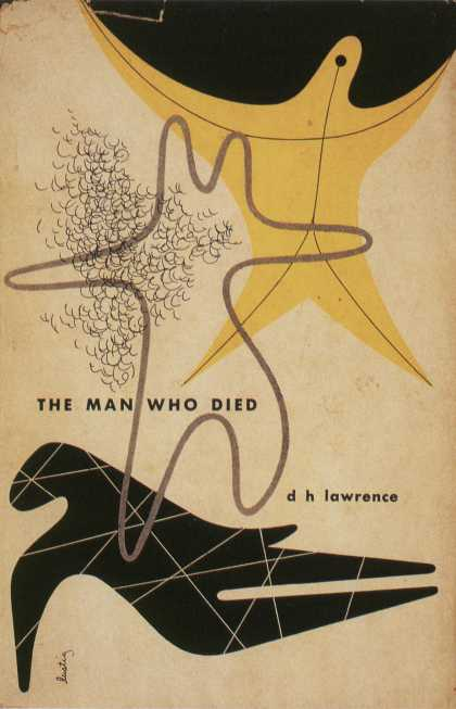 American Book Jackets - The Man Who Died