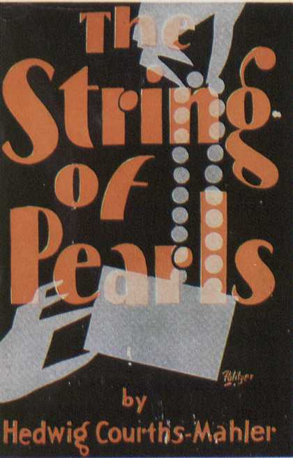 American Book Jackets - The String of Pearls