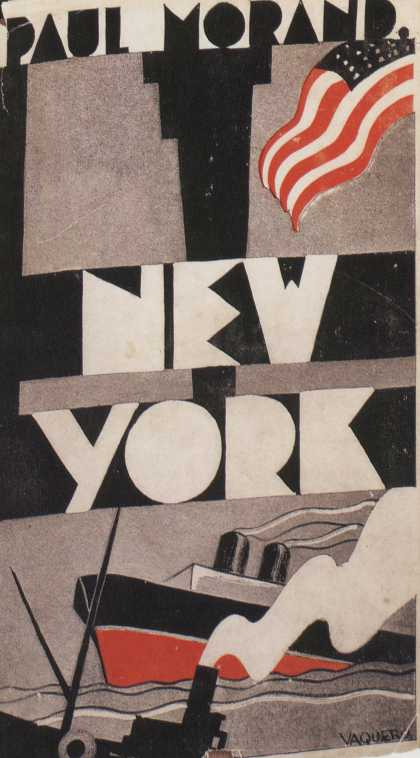 American Book Jackets - New York