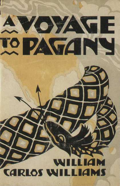 American Book Jackets - A Voyage to Pagany