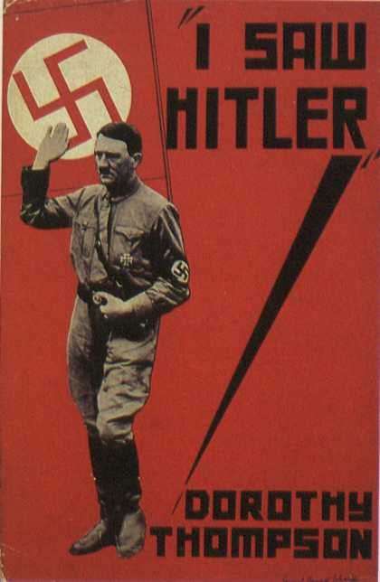 American Book Jackets - I Saw Hitler