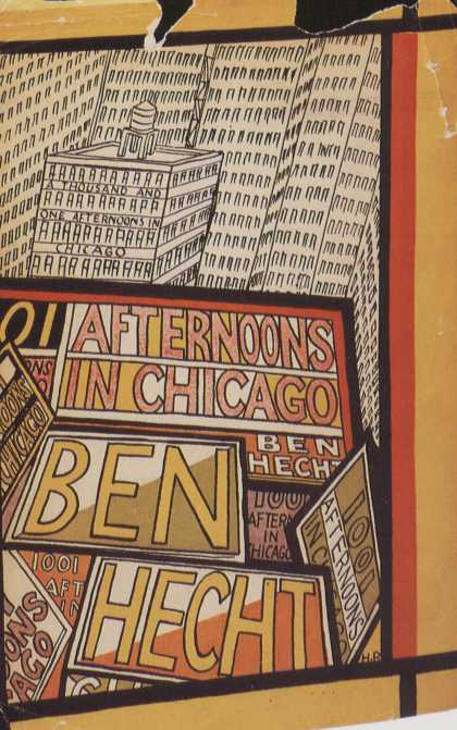 American Book Jackets - Afternoons in Chicago