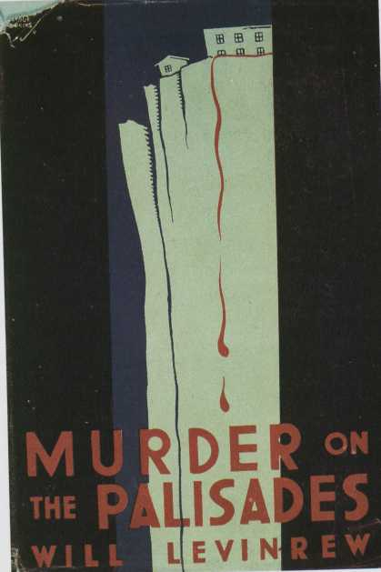 American Book Jackets - Murder on the Palisades