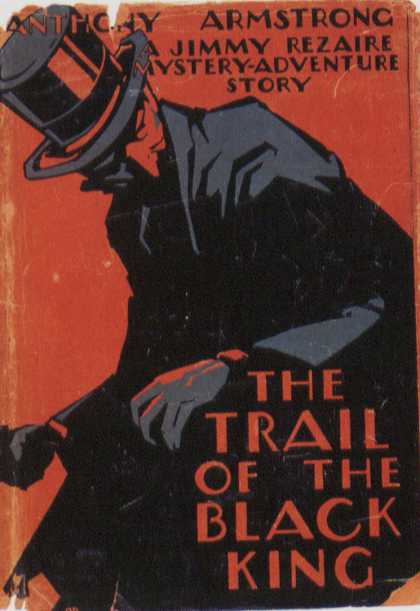 American Book Jackets - The Trail of the Black King