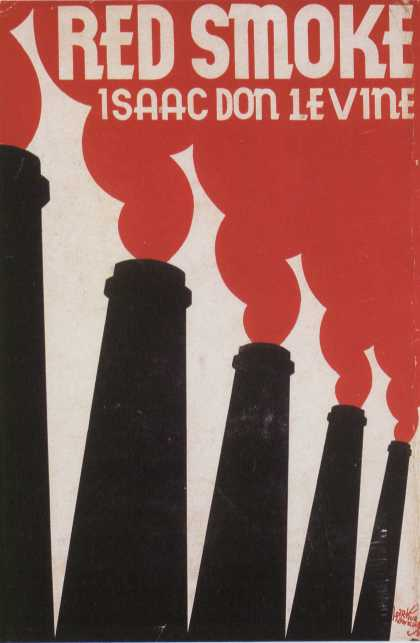 American Book Jackets - Red Smoke