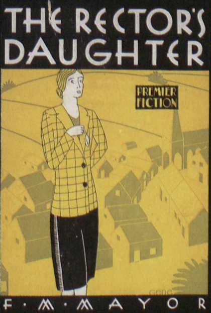 American Book Jackets - The Rector's Daughter
