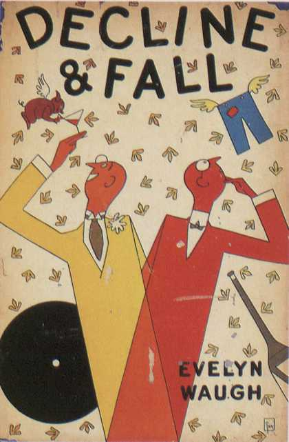 American Book Jackets - Decline & Fall