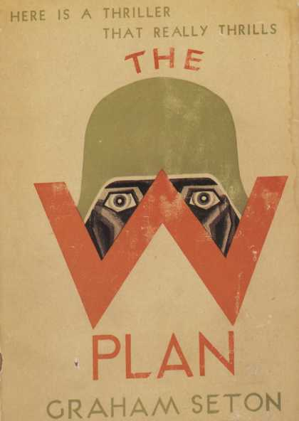 American Book Jackets - The W Plan