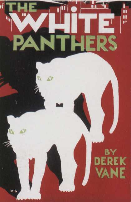 American Book Jackets - The White Panthers
