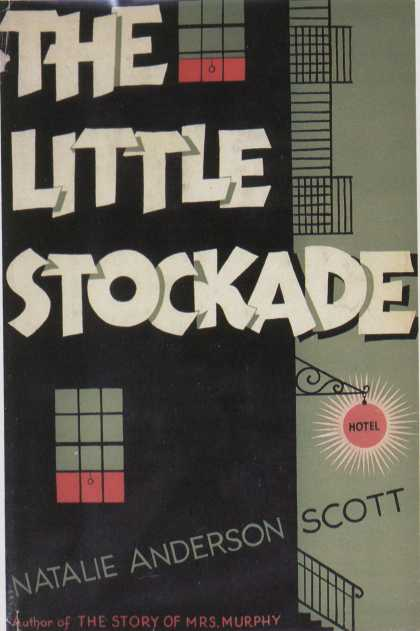 American Book Jackets - The Little Stockade