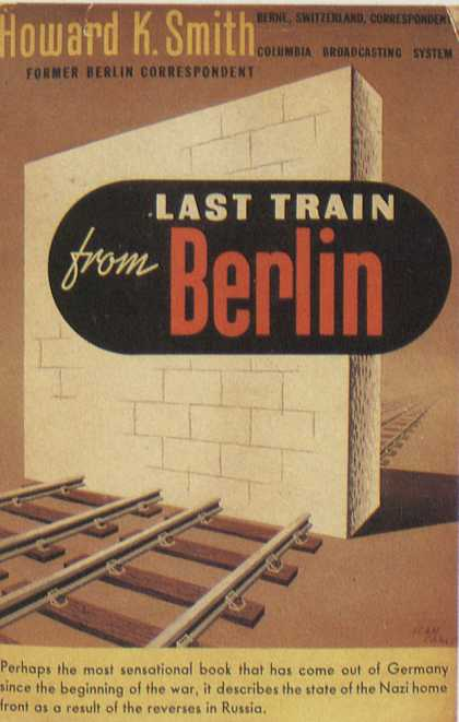 American Book Jackets - Last Train From Berlin