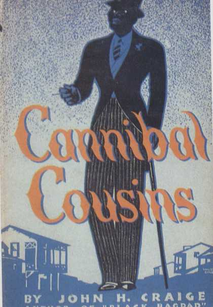 American Book Jackets - Cannibal Cousins