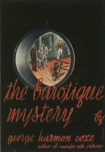 American Book Jackets - The Barotique Mystery