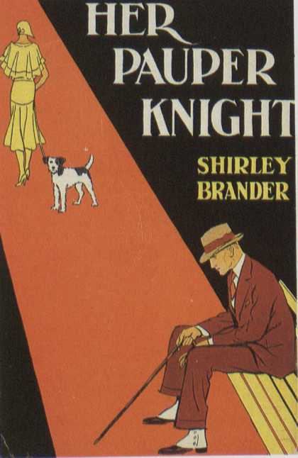 American Book Jackets - Her Pauper Knight